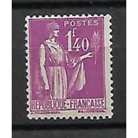 France - Numéro 371 - Neuf avec charnières