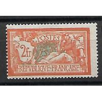 France - Numéro 145 - Neuf avec charnières
