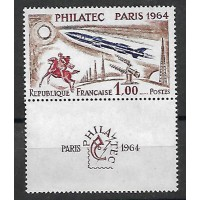 France - Numéro 1422 - Neuf avec charnières