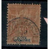 Cote d'Ivoire - Numéro 9 - Oblitéré