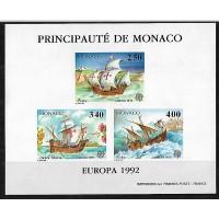 Monaco - Numéro 1825 à 1827 Non dentelé - Neuf