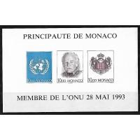 Monaco - BF 62 a Non dentelé - Neuf