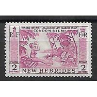 Nvlle Hebrides - Numéro 195 - Neuf sans charnière