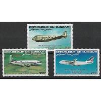 Djibouti - PA 183 à 185 - Neuf sans charnière