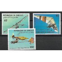 Djibouti - PA 197 à 199 - Neuf sans charnière