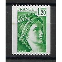 France - Numéro 2108 b petit tache - Neuf sans charnière