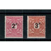 Cote d'Ivoire - Numéro 17 et 18 Taxe - Neuf avec charnière