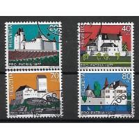 Suisse - Numéro 1026 à 1029 - Oblitéré