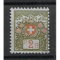 Suisse - F 2 - Oblitéré
