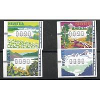 Suisse Distributeur - Numéro 11 à 14 - Neuf sans Charnière