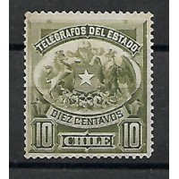 Chili - Telegraphe 6 - Neuf sans Gomme