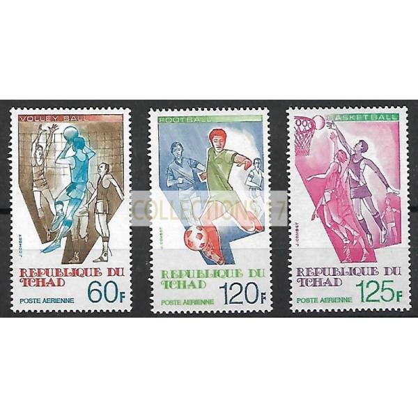 Tchad - PA 209 à 211 A - Neuf sans Charnières
