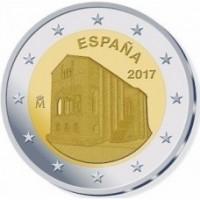 2 €uros Espagne 2017 (UNC Sortie de Rouleau)