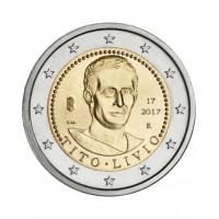 2 €uros Italie TITO LIVIO 2017 (UNC Sortie de Rouleau)