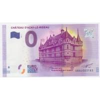 Billet de 0€ Commémoratif - Chateau d'Azay le Rideau