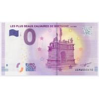 Billet de 0€ Commémoratif - Les Plus Beaux Calvaires de Bretagne
