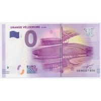Billet de 0€ Commémoratif - 80 ans du Vélodrome Orange
