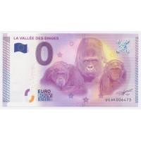 Billet de 0€ Commémoratif - La Vallée des Singes