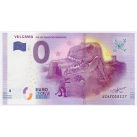 Billet de 0€ Commémoratif - Vulcania sur les Traces des Dinosaures