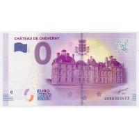 Billet de 0€ Commémoratif - Chateau de Cheverny