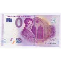 Billet de 0€ Commémoratif - Figeac Cité de l'Ecriture