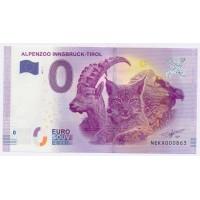 Billet de 0€ Commémoratif - Alpenzoo Innsbruck Tirol