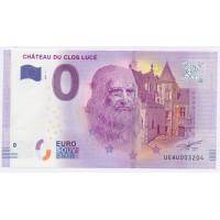 Billet de 0€ Commémoratif - Chateau du Clos Lucé