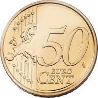 50 Centimes France 2007 - issue du Coffret BU