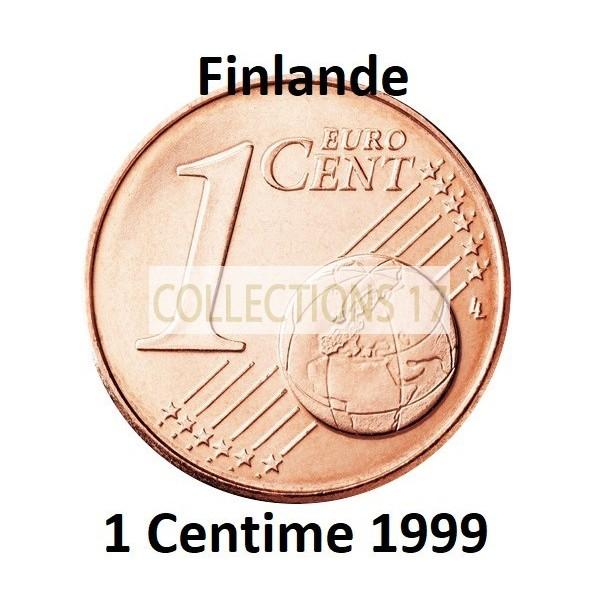 1 Centime Finlande 1999 - UNC Sortie de Rouleau