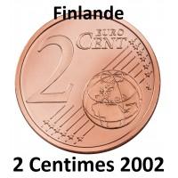 2 Centimes Finlande 2002 - UNC Sortie de Rouleau