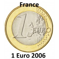 1 Euro France 2006 - UNC Sortie de Coffret BU