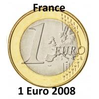 1 Euro France 2008 - UNC Sortie de Coffret BU