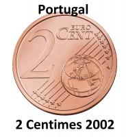 2 Centimes Euro Portugal 2002 - Neuve Sortie de Rouleau