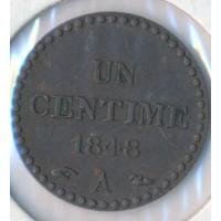 1848A - 1 Centime Dupré