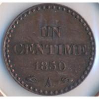 1850A - 1 Centime Dupré