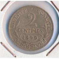 1899 - 2 Centimes Dupuis