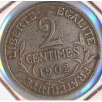 1902 - 2 Centimes Dupuis