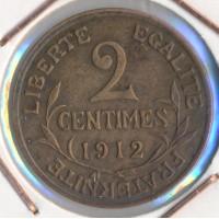 1912 - 2 Centimes Dupuis