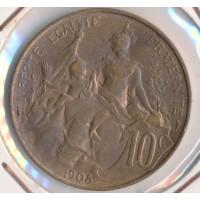 1905 - 10 Centimes Dupuis