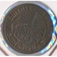 1908 - 1 Centime Dupuis