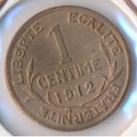 1912 - 1 Centime Dupuis