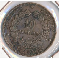 1873K - 10 Centimes Ceres