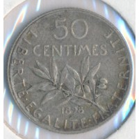1898 - 50 Centimes Semeuse