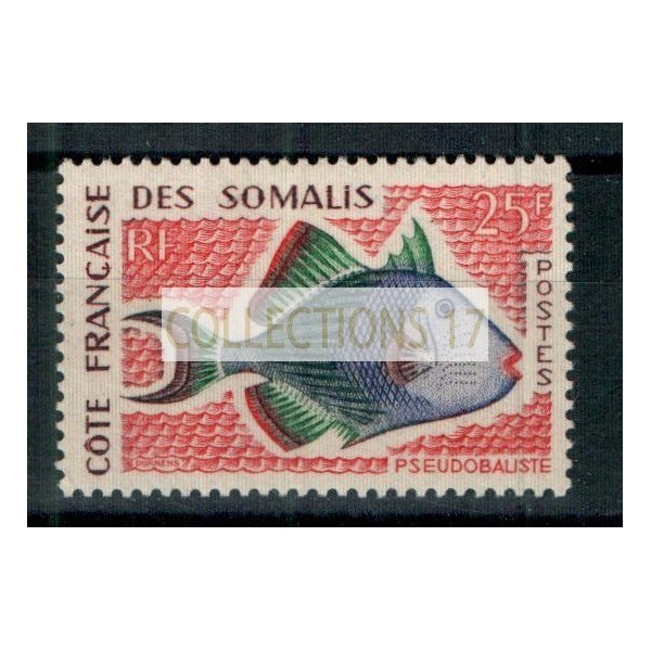 Cote des Somalis - Numéro 300 - Neuf sans charnière