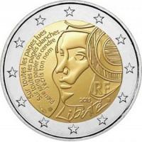 2 €uros France 2015 (UNC Sortie de Rouleau)