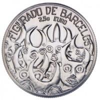 2.50 Euros Portugal Figurado de Barcelos 2016 - UNC sortie de Rouleau