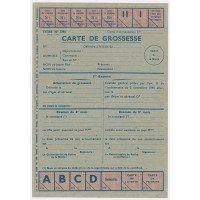 Carte de Rationnement 1945 - Carte de Grossesse