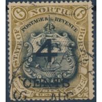 Bornéo du Nord - Numéro 87 - Oblitéré