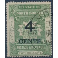 Bornéo du Nord - Numéro 95 - Oblitéré