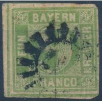 Allemagne Bavière - Numéro 6 - Oblitéré